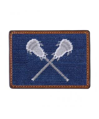 LACROSSE STICKS CREDIT CARD WALLET