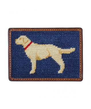 YELLOW LAB CREDIT CARD WALLET