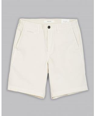 PIMA COTTON CHINO SHORT EGG SHELL