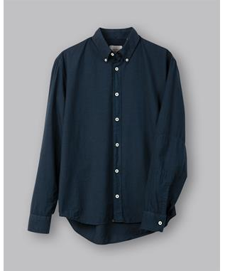 Taylor Garment Dyed Shirt NAVY
