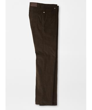 CHALET CORDUROY FIVE POCKET TROUSER ESPRESSO