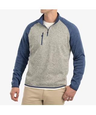 ALBERTA 1/4 ZIP FLEECE PULLOVER LAKE