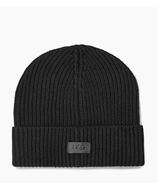 M WIDE RIBBED CUFF HAT