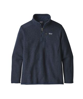 BOYS BETTER SWEATER 1/4 ZIP FLEECE NENA-NEW NAVY