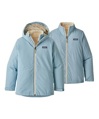 GIRLS 4 IN 1 EVERYDAY JACKET BSBL-BIG SKY BLUE