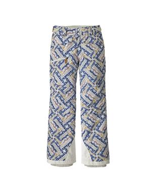 GIRLS SNOWBELLE PANT WSBW-WINTER SKIES/BIRCH WHITE