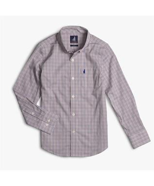 COLEMAN JR PREP-FORMANCE BUTTON DOWN SHIRT ISLAND