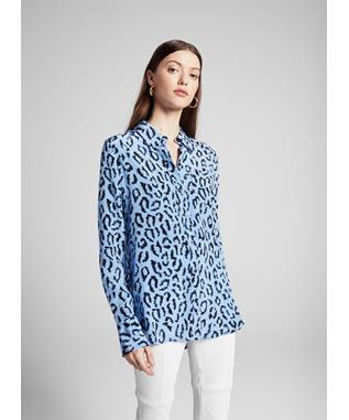 EMERSON TOP BLUE/BLACK