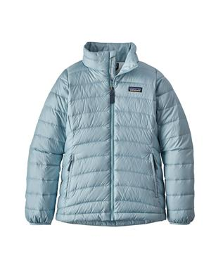 GIRLS DOWN SWEATER JACKET BSBL-BIG SKY BLUE