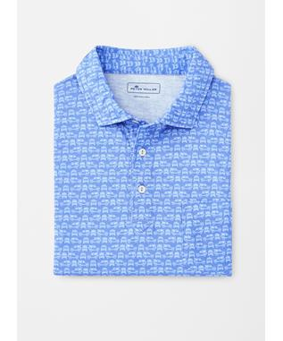 AQUA COTTON SCOUT POLO BONNET