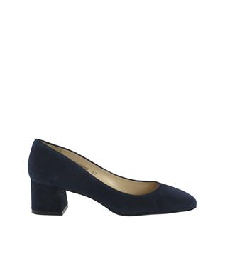 DORY SUEDE 50MM BLOCK HEEL PUMP