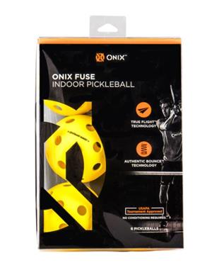 OUTDOOR BALLS YELLOW 6 PACK