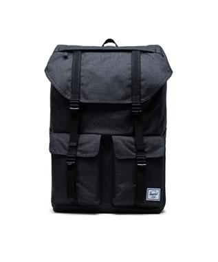 BUCKINGHAM BACKPACK BLK CROSS HATCH