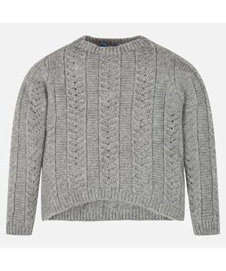 LUREX SWEATER SILVER