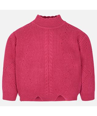TRICOT SWEATER FUCSHIA