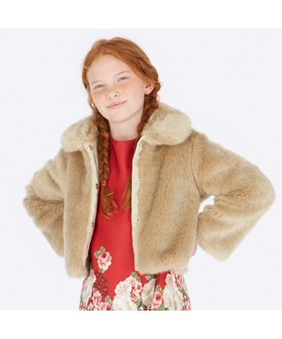 FUR COAT BEIGE