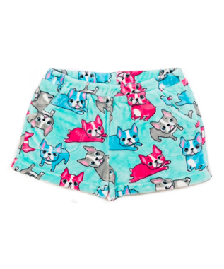 FRENCH BULLDOG SHORT AQUA