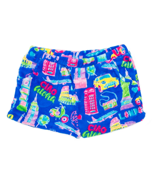 TRAVEL SHORT BLUE