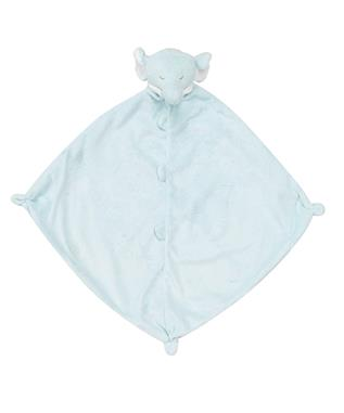 ANIMAL BLANKIE-BLUE ELEPHANT BLUE