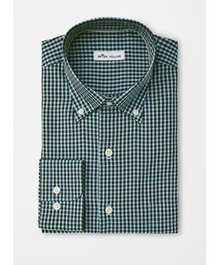 CROWN SOFT STRETCH GINGHAM LACINATO