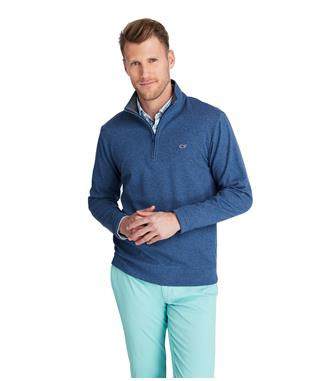 SALTWATER 1/2 ZIP DEEP BAY