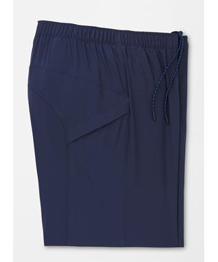 MONTREAL ACTION STRETCH TRAINING SHORTS NAVY