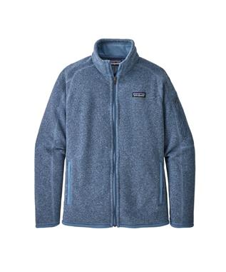 W BETTER SWEATER JKT WOOLLY BLUE