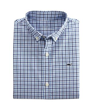 AMELIA GINGHAM SHIRT MOONSHINE