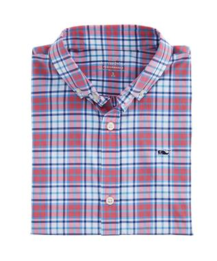 BOYS BLUEHEAD PERF SHIRT LOBSTER REEF