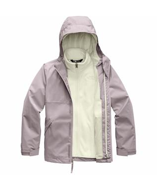 GIRLS TRICLIMATE JACKET ASHEN PURP