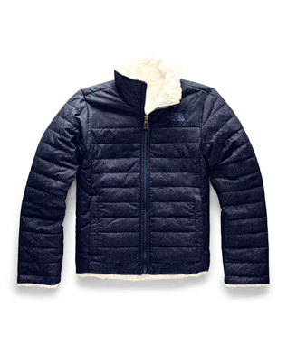 GIRLS REVERSIBLE MOSSBUD JACKET MONTAGUE B