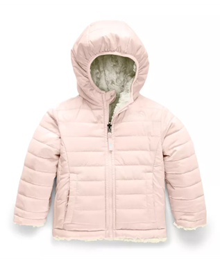 TODDLER GIRLS REVERSIBLE MOSSBUD JACKET PURDY PINK