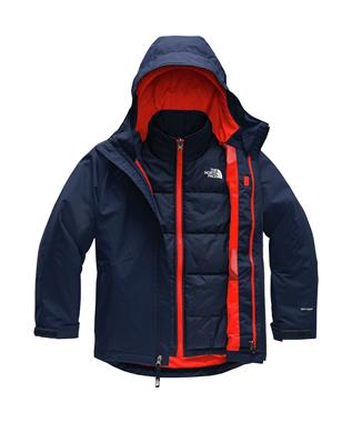 BOYS CLEMENT TRICLIMATE JACKET MONTAGUE B