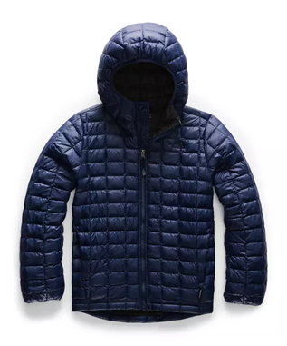 BOYS THERMOBALL JACKET JC6-MONTAGUE BLUE