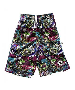 SUPER HERO ATTACK SHORT PURPLE