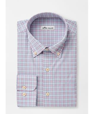 CLARENCE COTTON-BLEND SPORT SHIRT PALMER PIN