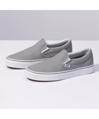 CLASSIC SLIP ON GRAY/TRUE WHITE