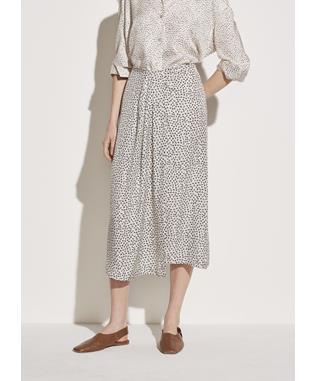 Star Dot Drape Skirt