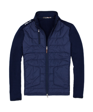 QUILTED COOL WOOL HYBRID JACKET