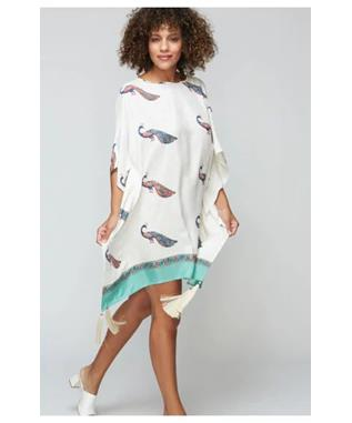 FRANCIS PEACOCK CONA PONCHO COVERUP