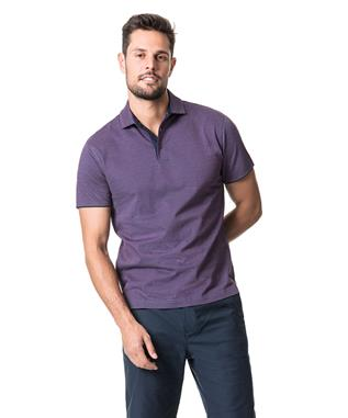 ALTON VALLEY SPORTS FIT POLO MULBERRY