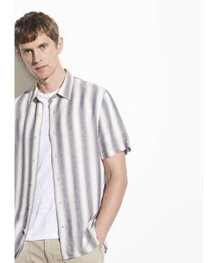 Shadow Stripe Short Sleeve