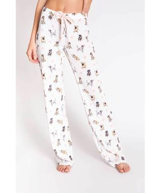 GIVE LOVE PUPPIES PJ PANT
