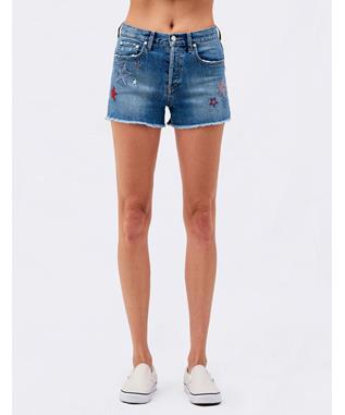 CUT-OFF SHORTS WITH STARS