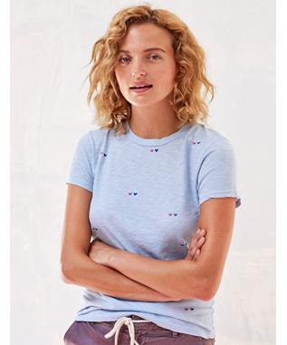 BOY TEE WITH HEARTS