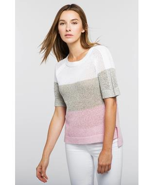 COLORBLOCK MESH PULLOVER ECLIPSE MULTI
