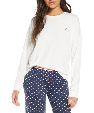 SEAS THE DAY ANCHOR LONG SLEEVE IVORY