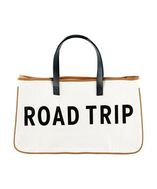 CANVAS TOTE - ROAD TRIP NATURAL