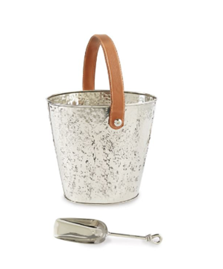 HAMMERED WINE COOLER SET