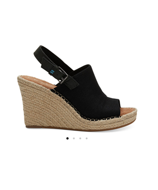 MONICA SUEDE WEDGE